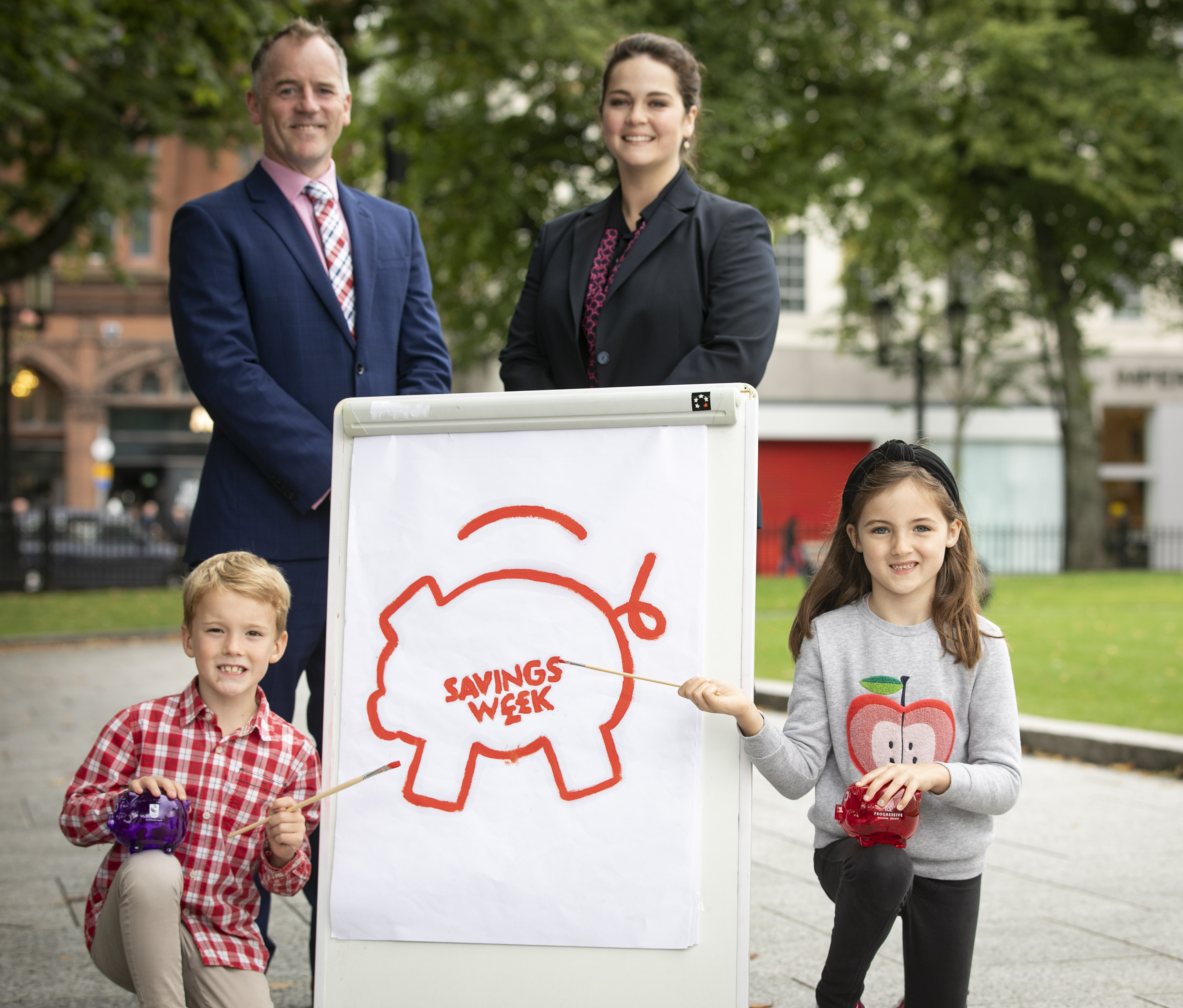 Northern Ireland Savings Week Launch Photo