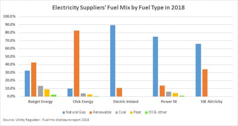 Fuel Mix by Fuel Type 2018