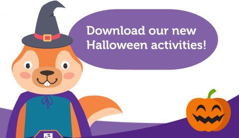 Download our latest halloween activities