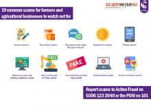 10 common scams for farmers and agricultural businesses to watch out for