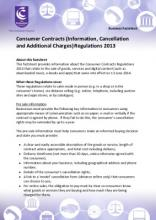 Consumer Contracts Regulations >> Consumer Contracts Regulations Factsheet For Businesses